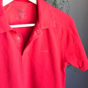 Patagonia Men's Red Short-Sleeve Polo